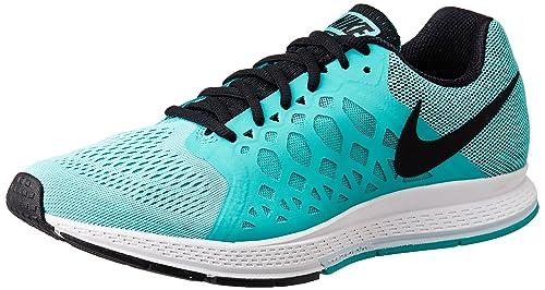 relé fricción traicionar  Buy Nike Men's AIR Zoom Pegasus 31 L Running Shoes-6 UK 39 Euro  (652925-405-L Aqua/Black-6) at Amazon.in