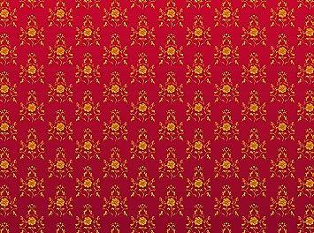 Wall Mural Modele Rouge Baroque Papier Peint Non Tisse De 350 Cm De