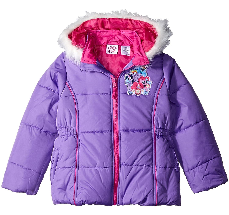 Hasbro Girls My Little Pony Puffer Coat