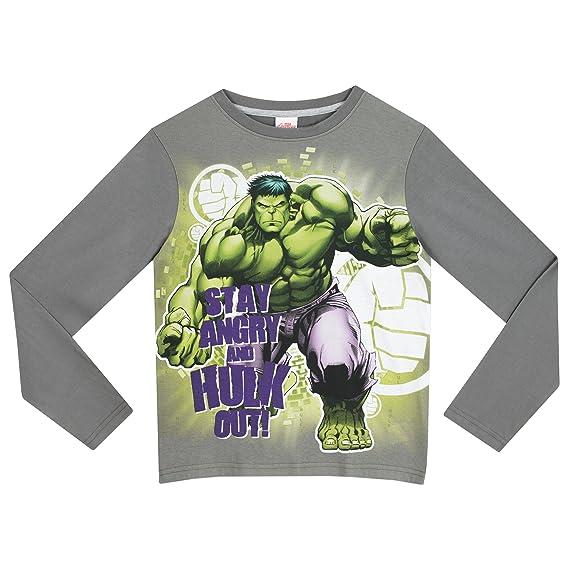 El increíble Hulk - Pijama para Niños - Hulk: Amazon.es: Ropa y accesorios