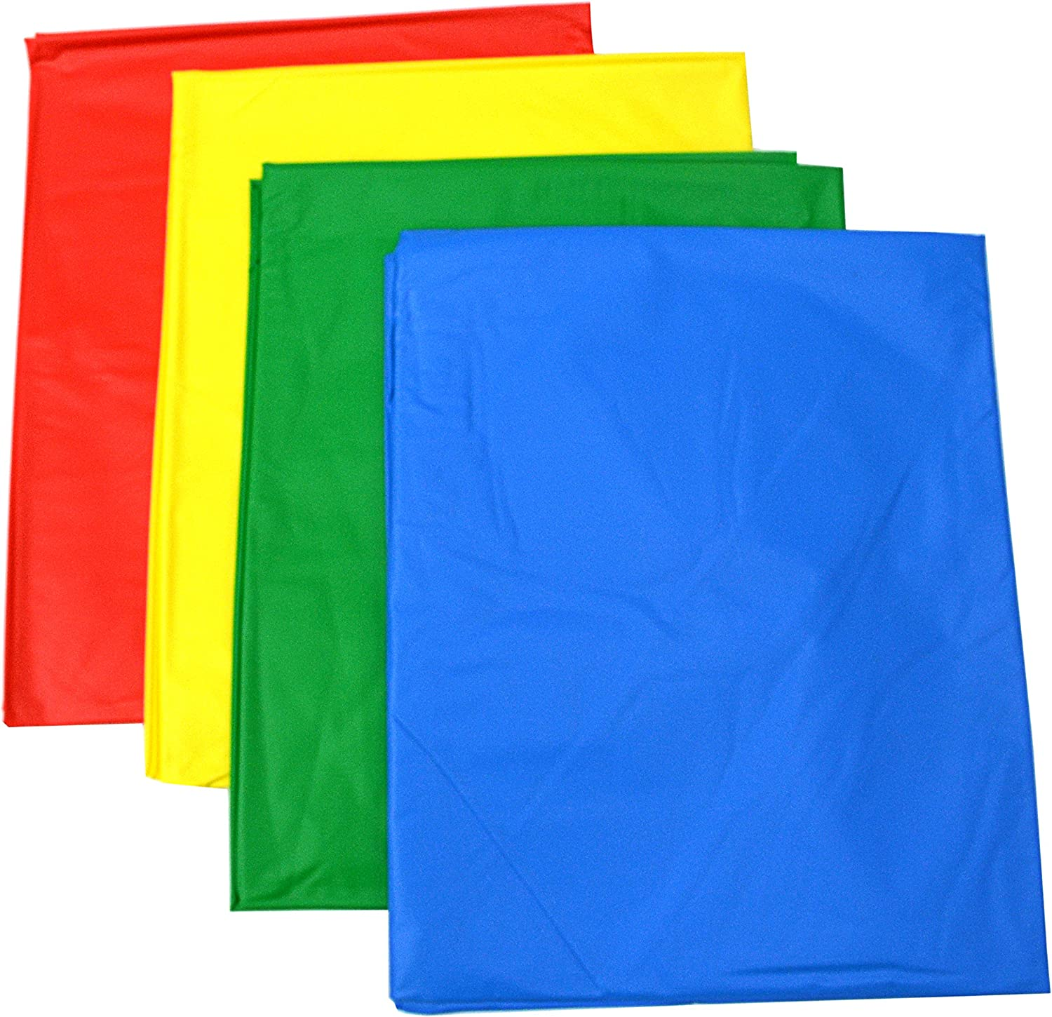 Ideal For Messy Play Pack of 4 Heavy Duty Table//Floor Covers 150cm x 150cm One of Each Colour