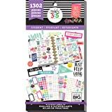 me & my BIG ideas Sticker Value Pack for Classic Planner - The Happy Planner Scrapbooking Supplies - Student Theme - Multi-Co