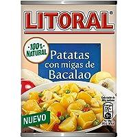 LITORAL Guiso de Patatas con migas de Bacalao