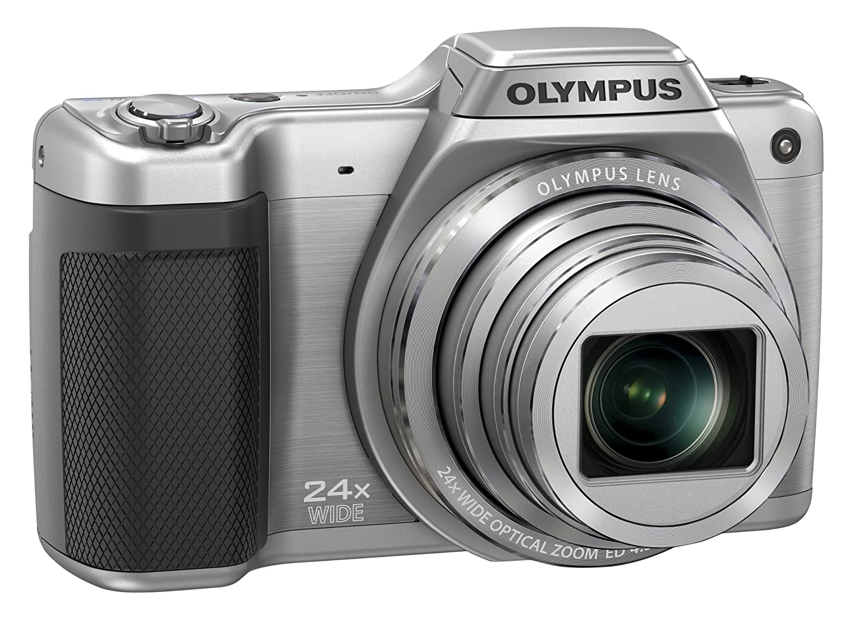 Olympus Stylus SZ-15 Digital Super Zoom Camera - Silver: Amazon.co.uk:  Camera & Photo