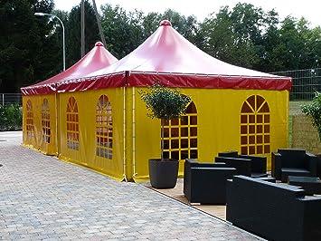 Kunststoff Pavillon Planen : Amazon pavillon pagode zelt stahl mit lkw plane