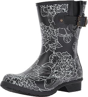 ac3ff2516ba7e Chooka Women s Waterproof Mid-Height Printed Rain Boot with Memory Foam