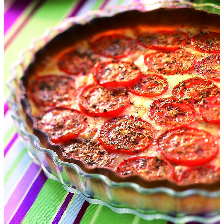 By Pyrex Glass Flan Tart Dish Quiche 27 Cm
