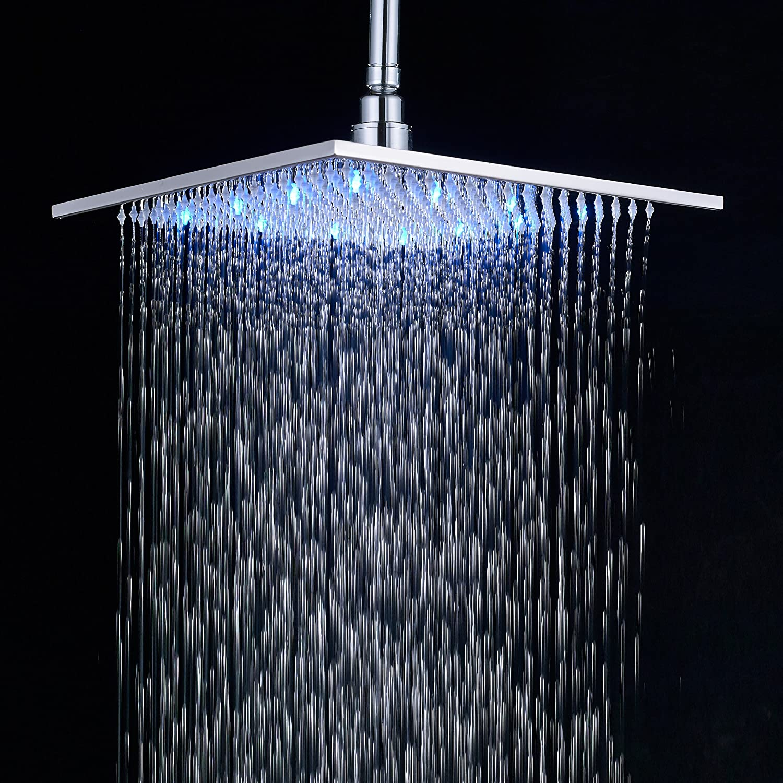 modern shower head rain forest   large  big light  durable  ebay