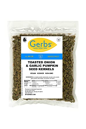 Núcleo de semillas de calabaza GERBS, sin OMG, libre ...