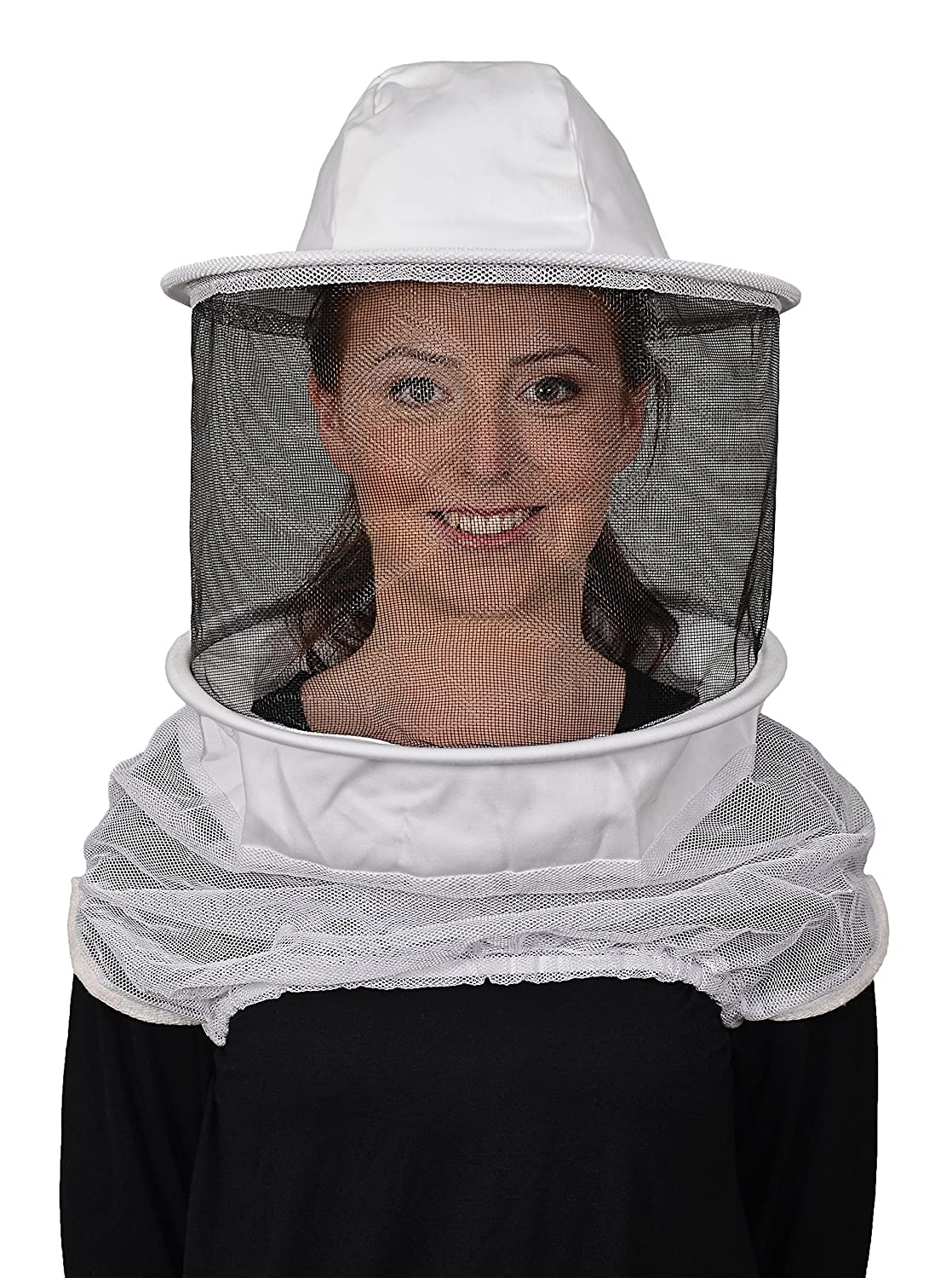 Humble Bee 210-ST Polycotton Beekeeping Veil with Round Hat