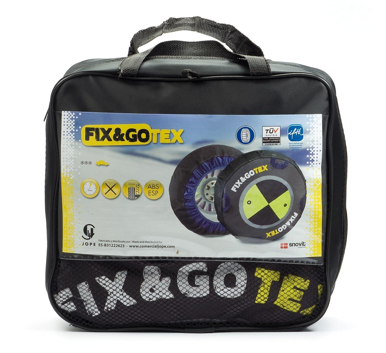FIX&GOTEX - 8ZFF - Cadenas de nieve, cadena textil para coche TALLA F: Amazon.es: Coche y moto