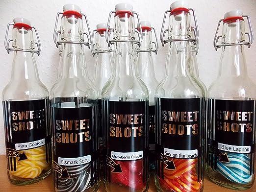Cocktail Getränk zum Selbermachen dänische Spezialität Fruchtlakritz ...