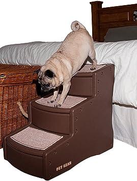 Pet Gear - Escalera para Mascotas Easy Step III, Tres escalones para Gatos y Perros