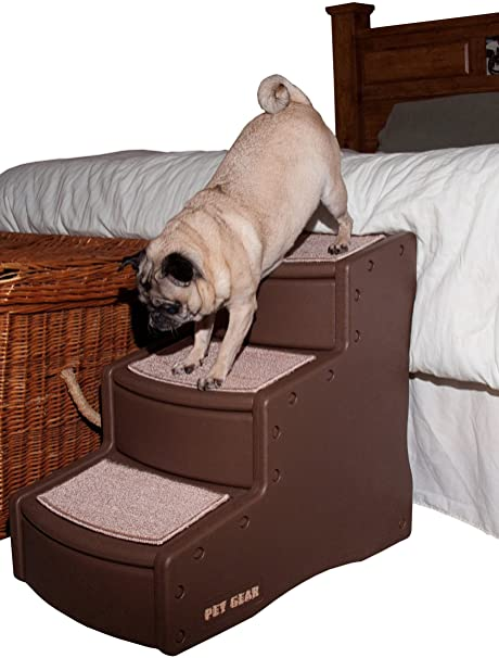 Pet Gear - Escalera para Mascotas Easy Step III, Tres escalones para Gatos y Perros. Pasa ...