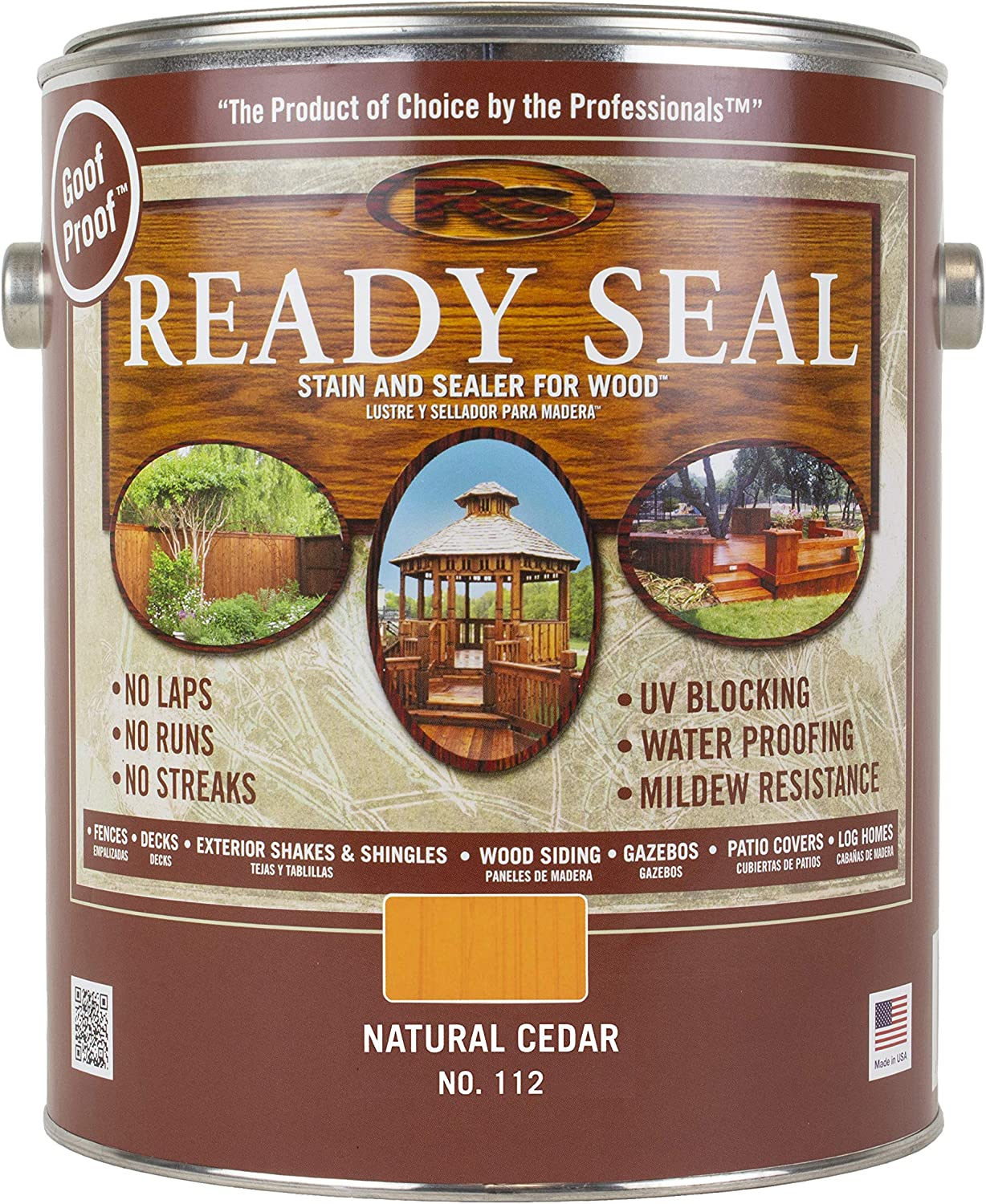 Ready Seal 112 Exterior Stain and Sealer