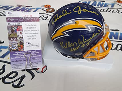 pretty nice 8fb45 9fa73 Amazon.com: Kellen Winslow and Charlie Joiner Dual signed ...