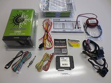 Amazon com: Complete Plug & Play Remote Start w/ Security