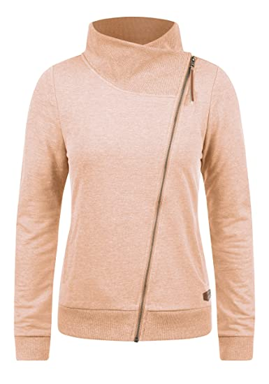 Pour Col Sweat Zippé Desires Avec Shirt Femme Candy Veste En qBaA6