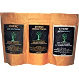 Etheric Combo Pack for Healthy Hair (Aloe Vera + Fenugreek (Maithi) +Hibiscus)