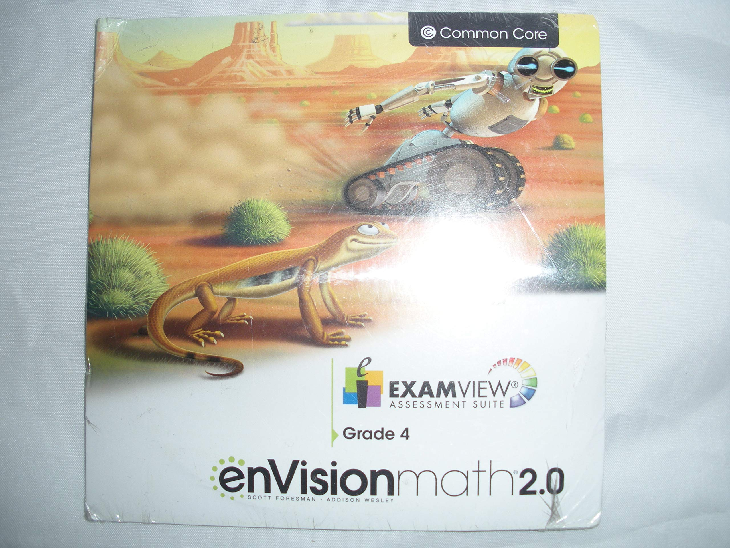 ExamView Assessment Suite CD-ROM for Use with enVision Math