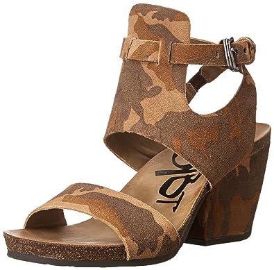 OTBT Women's Lee Gladiator Sandal, Camo, ...