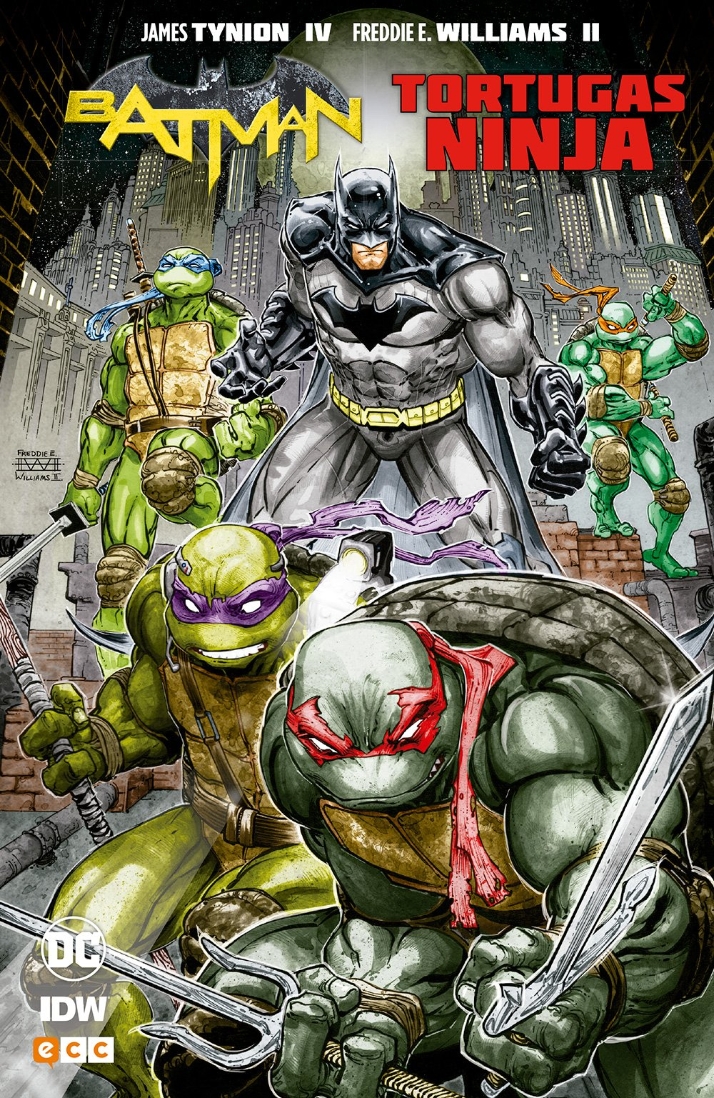 Batman/Tortugas Ninja (2a edición): James Tynion IV ...