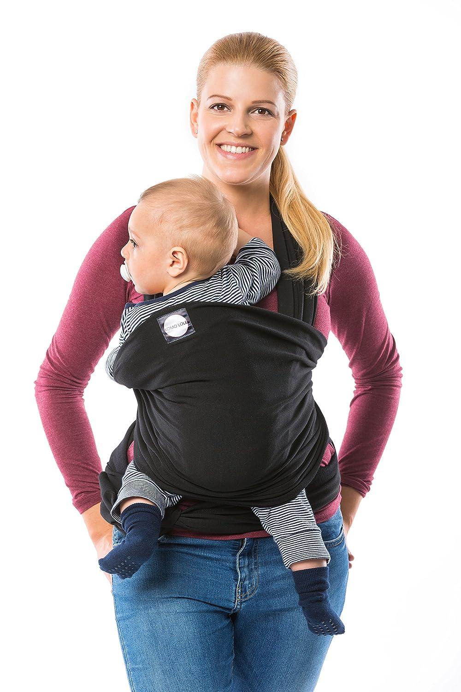 8a5857c7b379 Komo  lole ® Premium Baby Porte-bébé - Porte-bébé élastique pour première  et de votre bébé nouveau-né jusqu à 15 kg   avec guide d utilisation    Poignée ...