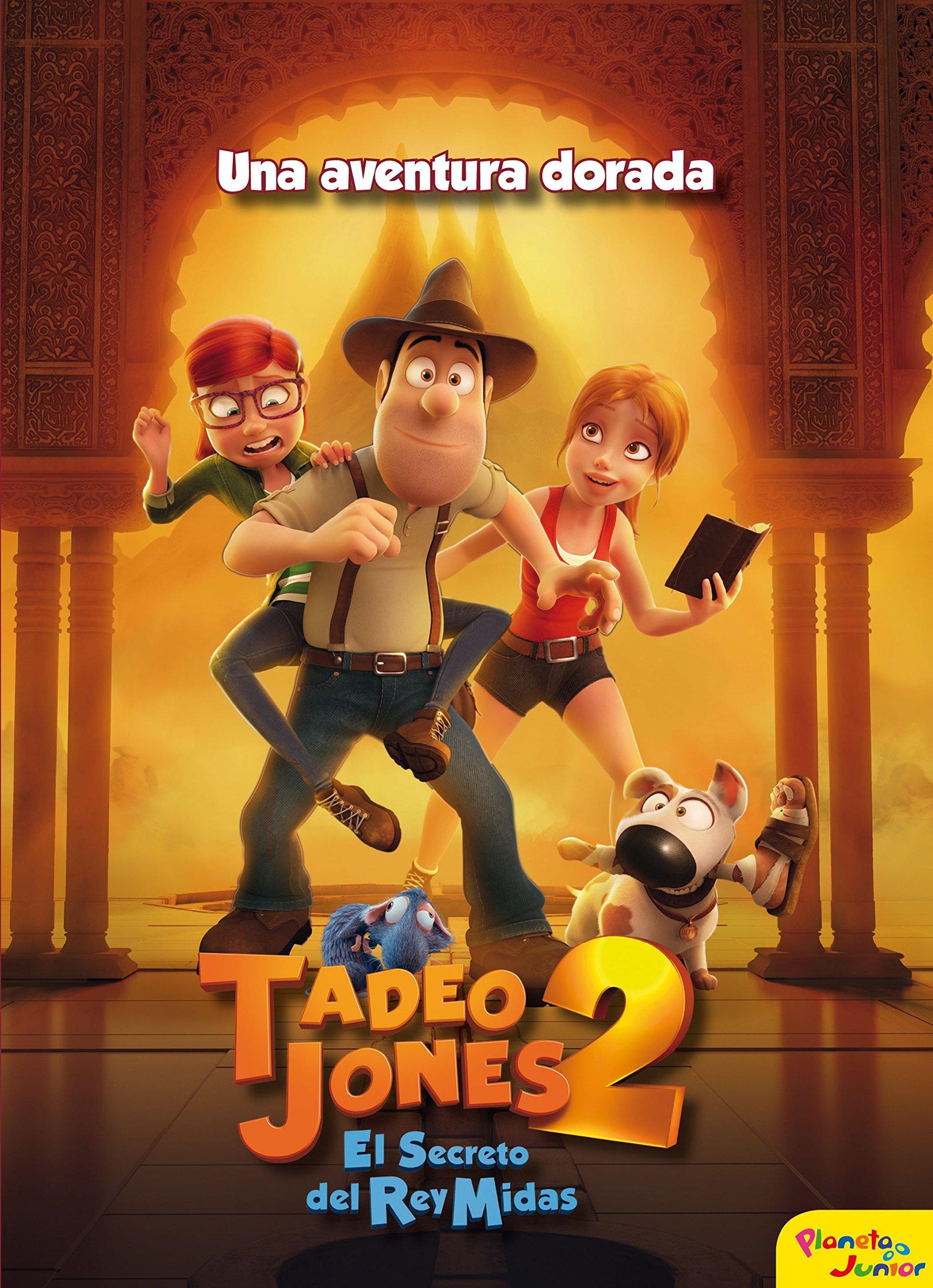 Tadeo Jones 2 Una Aventura Dorada Amazon Es Mediaset España Comunicación Libros