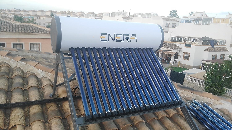 Calentador solar de agua de tubos de vacío