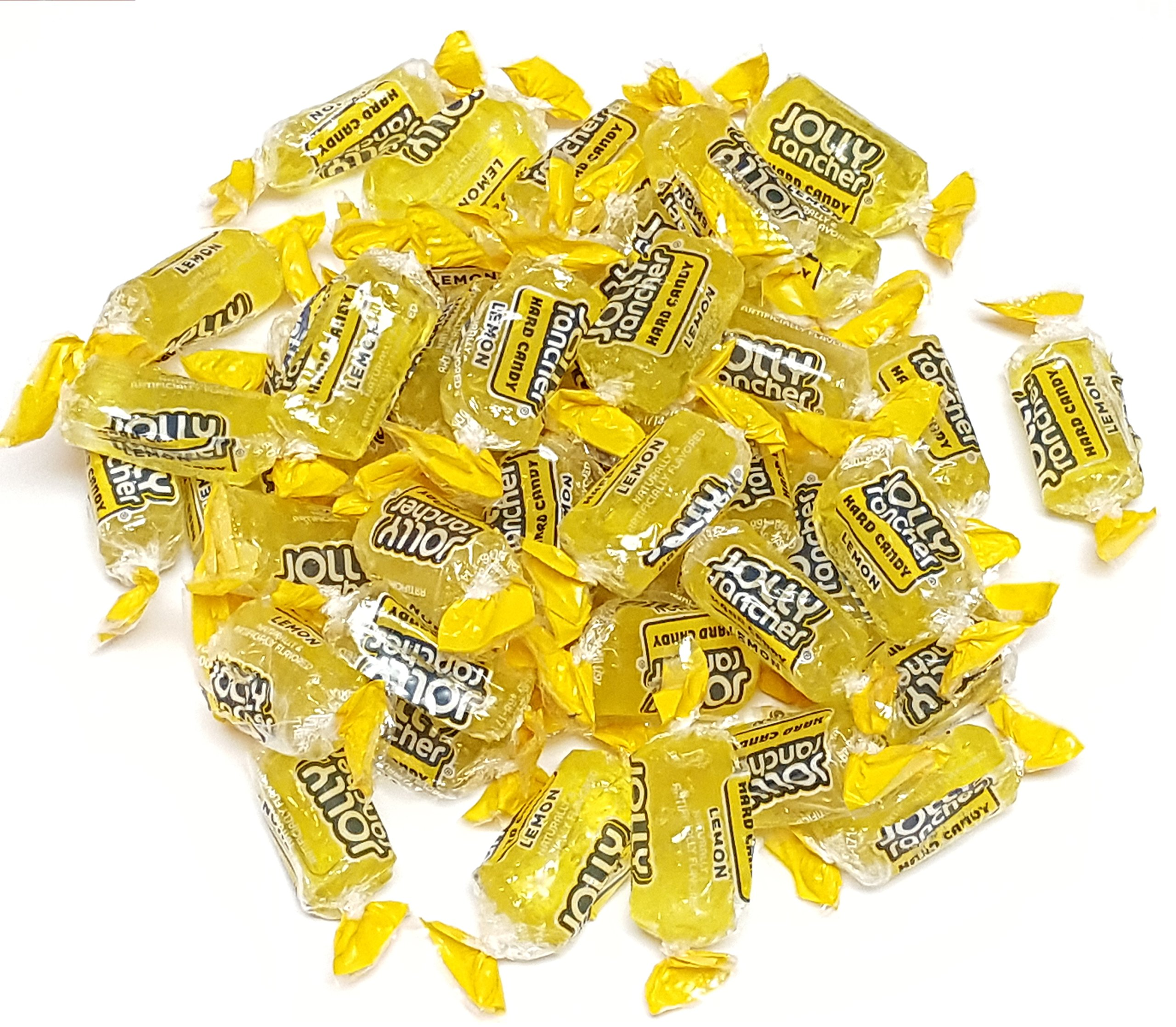 Jolly Rancher Lemon Flavored 2.4 Pounds Individually Wrapped Bulk Candy by Jolly Rancher