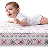 """Waterproof Fitted Crib Pad, size 28""""x52"""" + Free eBook. Special Baby Shower Gift."""