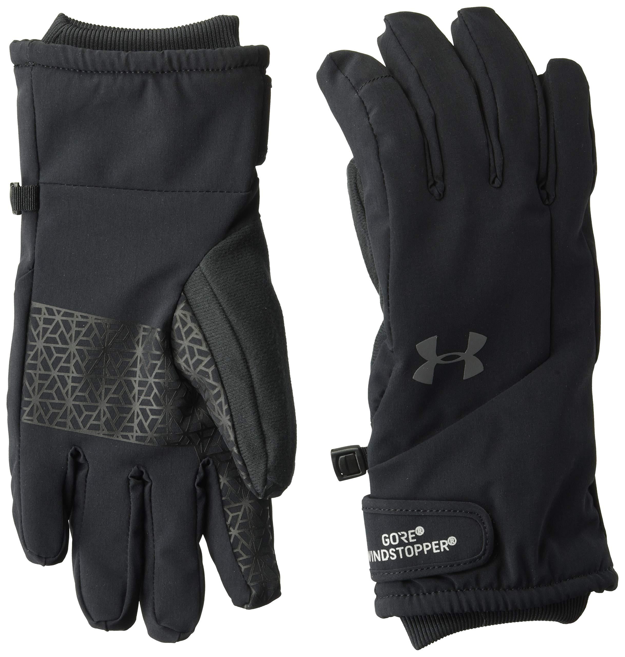 Under Armour Women's Windstopper Glove, Black (001)/Graphite, Medium