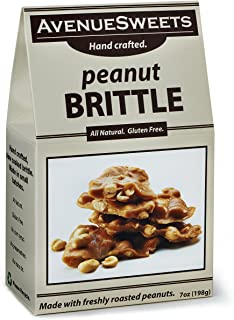 product image for AvenueSweets - Handcrafted Old Fashioned Nut Brittle - 7 oz Box - Peanut