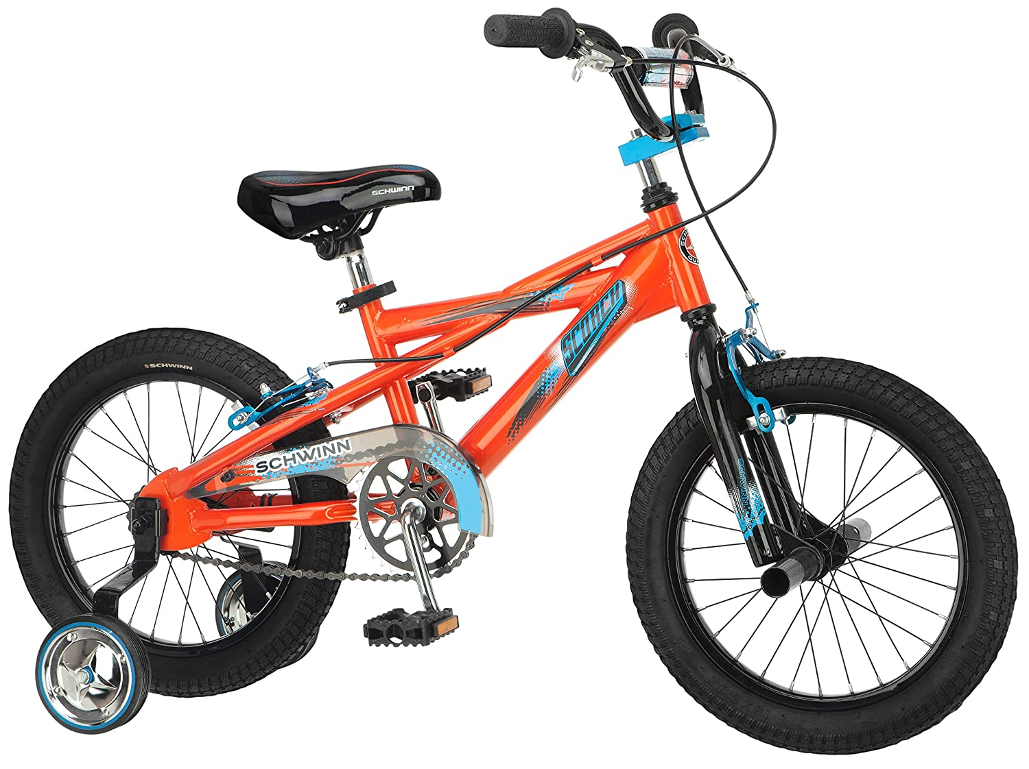 amazon com schwinn boy u0027s scorcher 16 inch bicycle orange