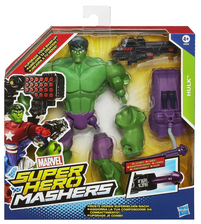 Marvel Avengers Hero Mashers Hulk Action Figure Amazoncouk Toys &