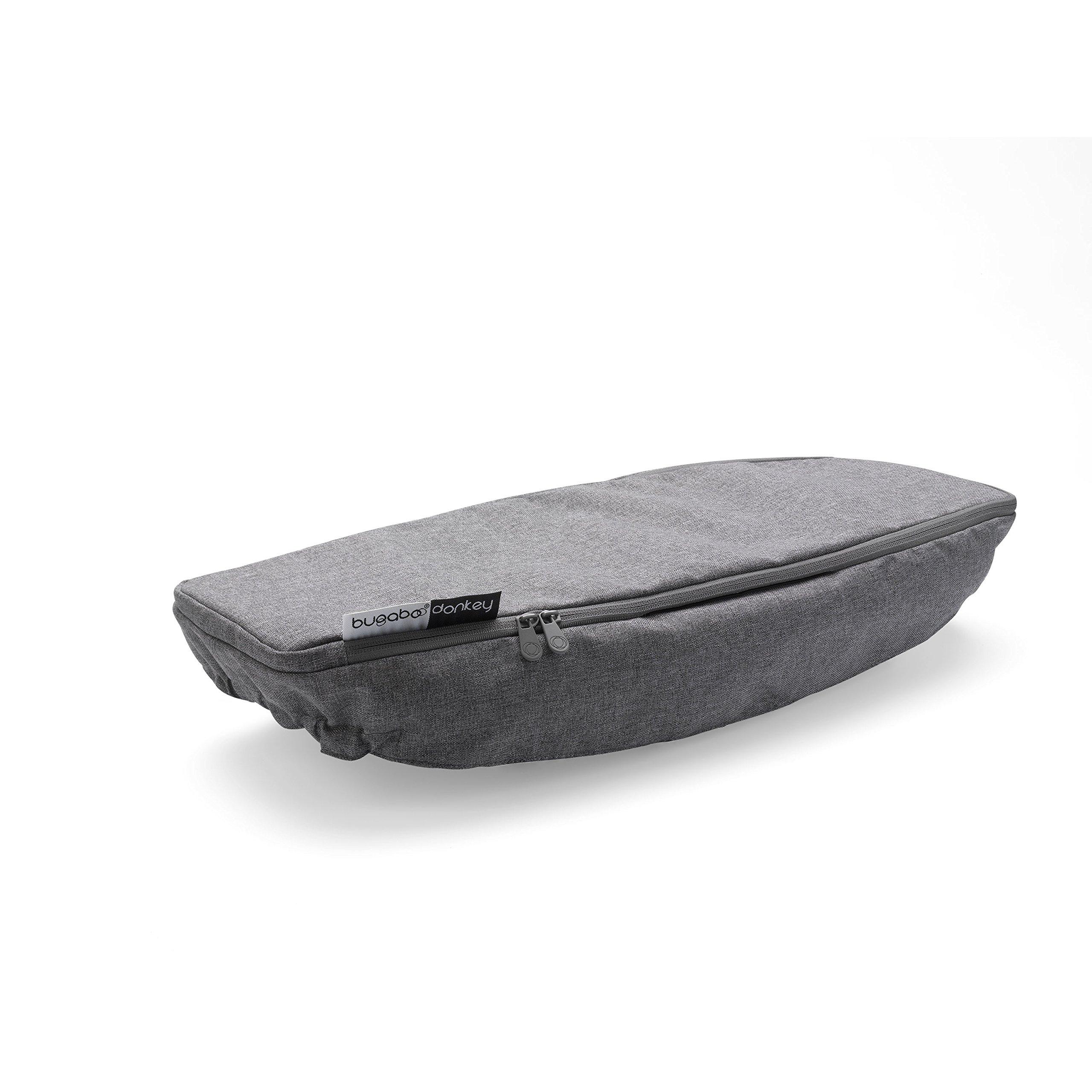 Bugaboo Donkey2 Side Luggage Basket Cover, Grey Melange