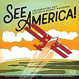 See America! Wall Calendar 2018