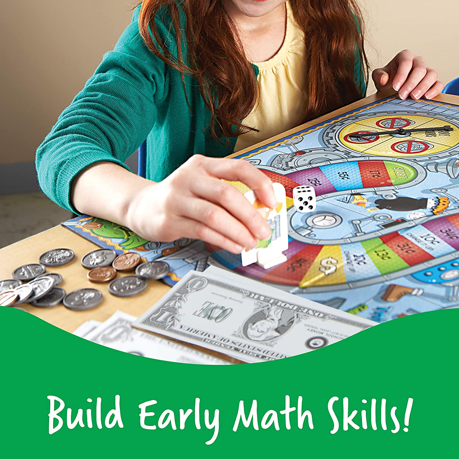 Make Your Money Count board game Counting Money Education for Kids
