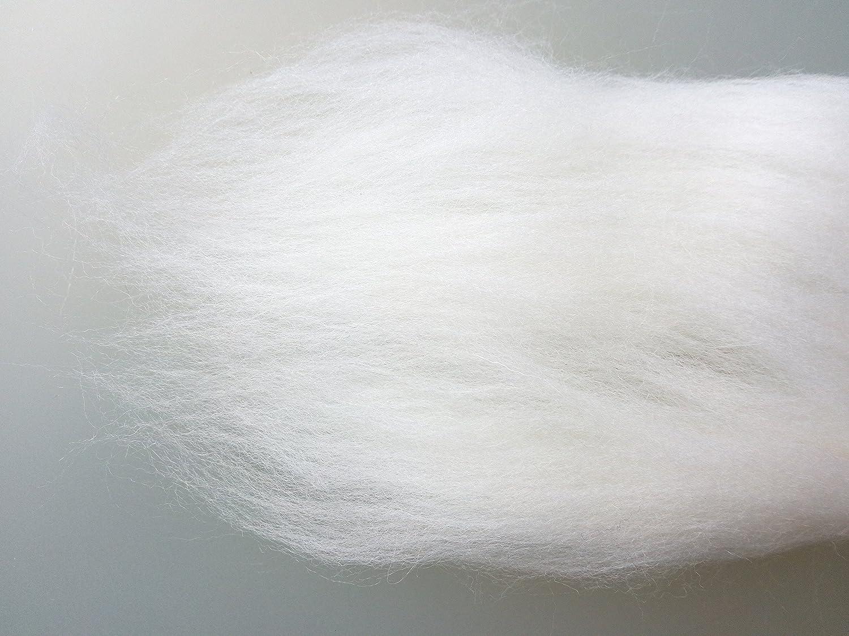 Pearl Grey, 30 g Black Grey White 30-200 g Grey Family* 100/% Pure Merino Roving Wool Top for Felting