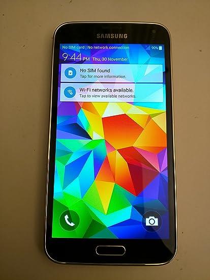 Samsung Galaxy S5 G900V Verizon 4G LTE Smartphone w 16MP Camera Black Verizon