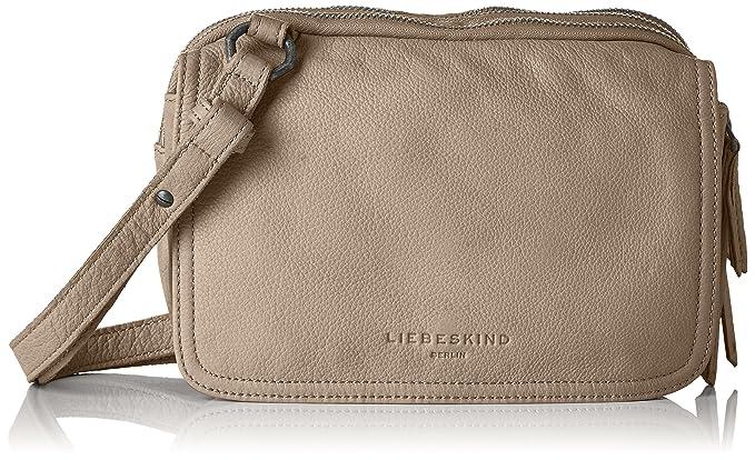 d8be5c2ee1 Liebeskind Berlin Women Cross-Body Bag Brown Size: UK One Size: Handbags:  Amazon.com
