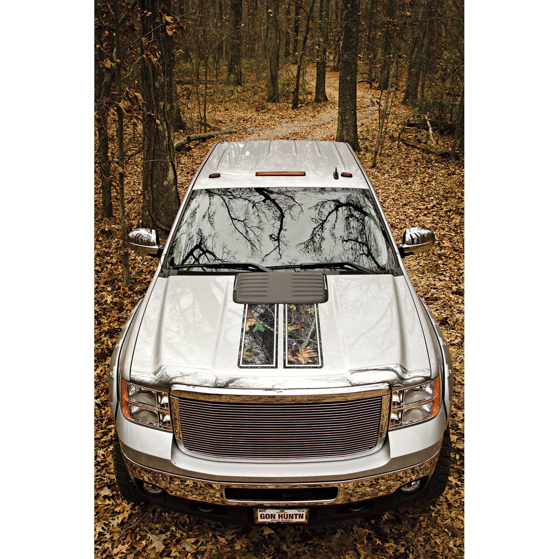 Mossy Oak Graphics 12101-L-BU Camouflage Break-Up Dual Rally Stripe Package