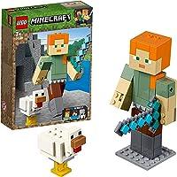 LEGO Minecraft Alex Big Figure with Chicken 21149 Playset Toy