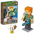 レゴ(LEGO) マインクラフト マインクラフト ビッグフィグ アレックスとニワトリ 21149 ブロック おもちゃ 男の子