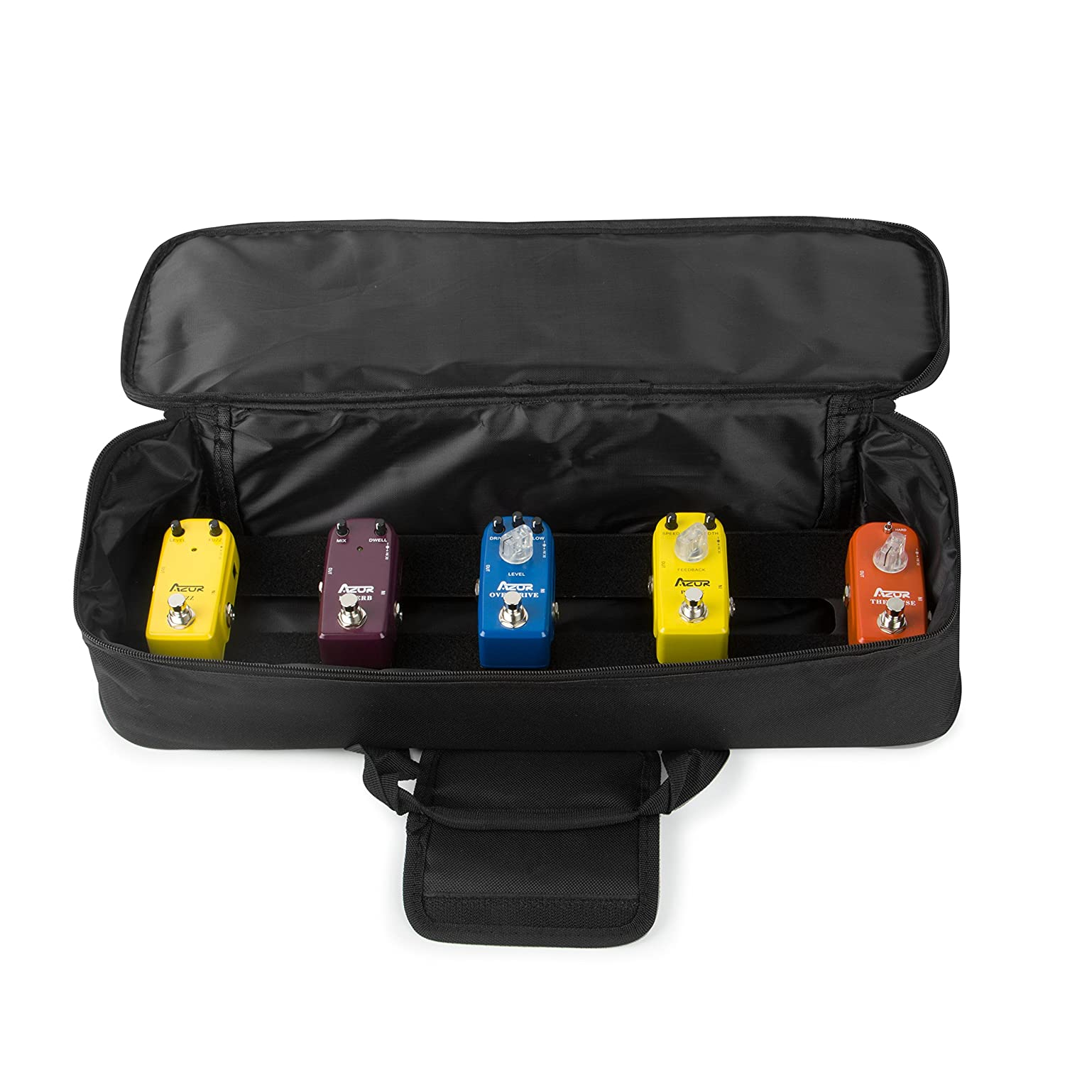 6bd1453b2600 Amazon.com: LAPOND Guitar Pedal board Small with Carry Bag, Guitar ...