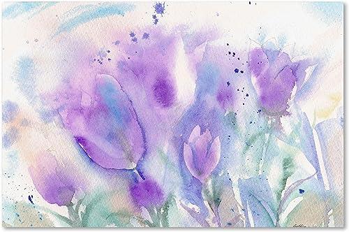 Purple Blues Artwork