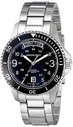 ebd86034c29 Amazon.com  Hamilton Men Khaki Navy Scuba Auto watch  Hamilton  Watches