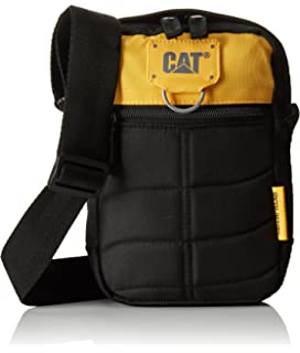 Messenger Bag CATERPILLAR Rodney 83437-12 Black/Yellow