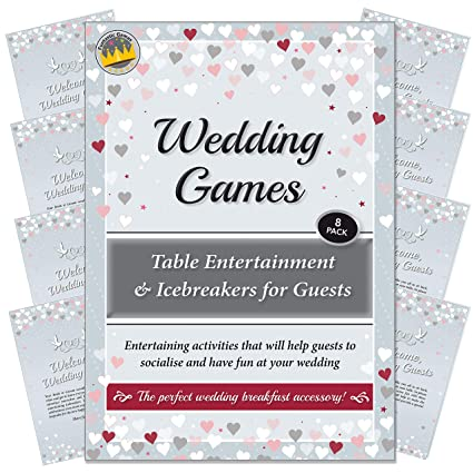 fd13cce533 Wedding Games - Table Entertainment and Icebreakers for Guests.  Entertaining activities that will help guests
