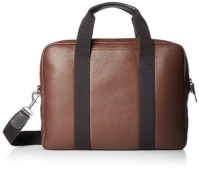 Ecco Eday L Laptop Bag, Sacs pour ordinateur portable homme, Braun (Brown), 9x29x38 cm (B x H T)